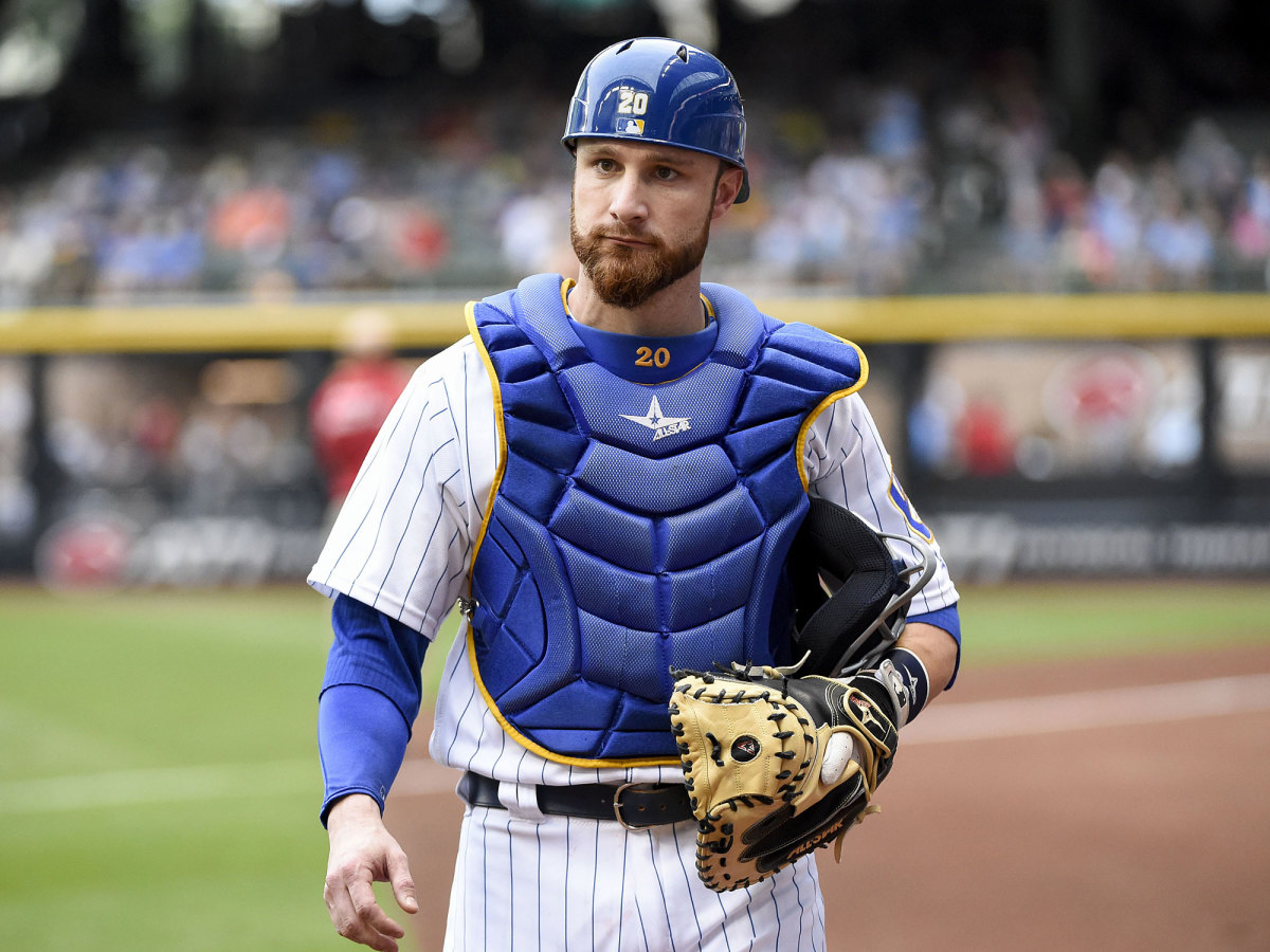 The Indians targeted All-Star catcher Jonathan Lucroy of the Brewers but the deal hit a snag.