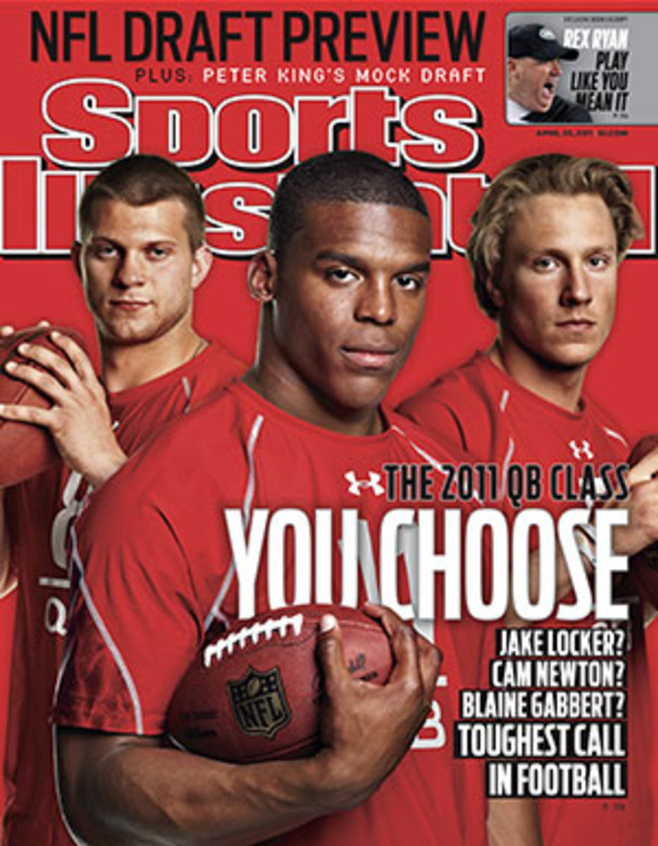 Cover of the April 25, 2011 issue of Sports Illustrated.