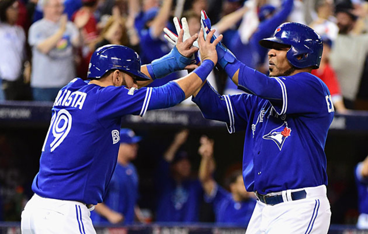 Jose Bautista (left) and Edwin Encarnacion are two players who have benefited from Toronto's new approach.