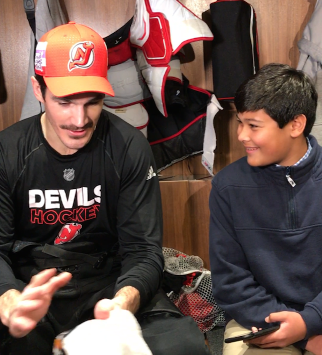 Devils center Brian Boyle and Christopher