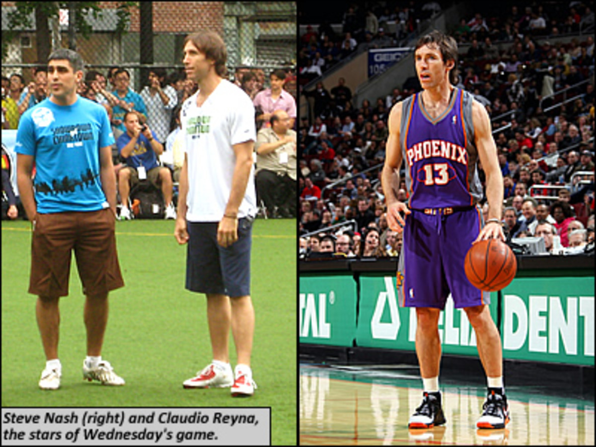 Steve Nash's Soccer Q&A - SI Kids: Sports News for Kids, Kids Games and More