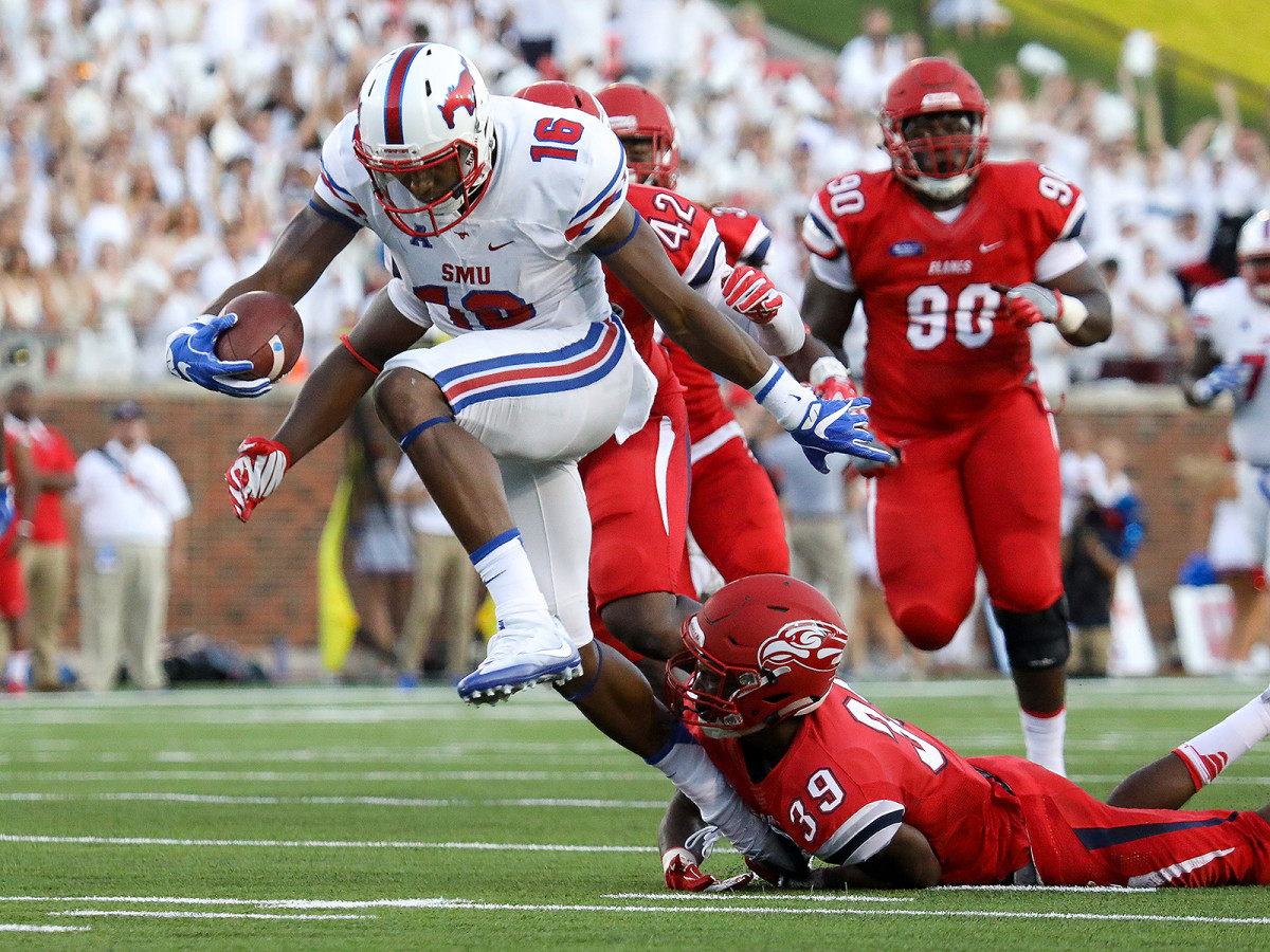 SMU's Courtland Sutton has the physical frame and the eye-popping production to command the NFL's full attention.