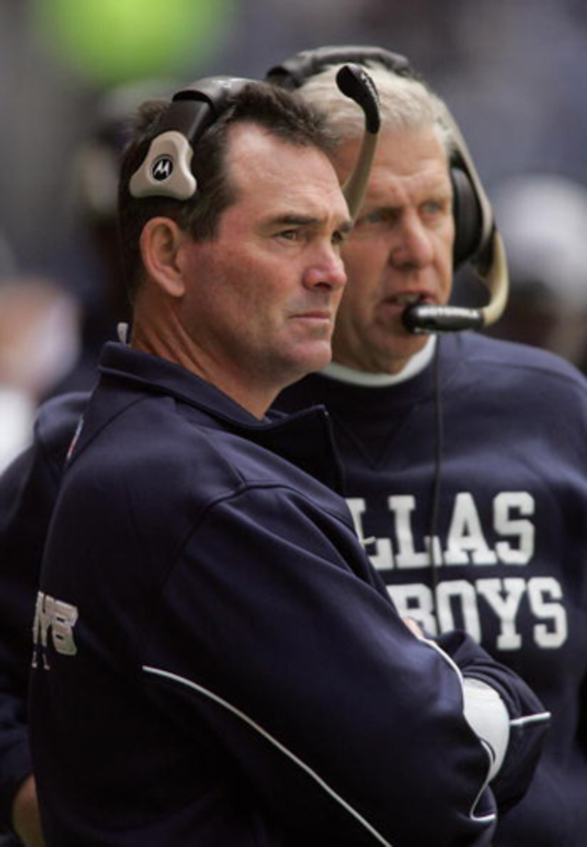 Mike Zimmer worked with Bill Parcells for four seasons in Dallas, from 2003-06.
