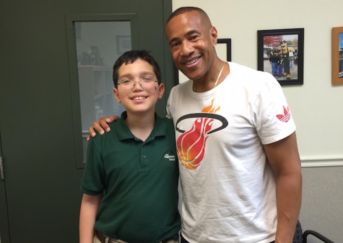 Kid Reporter Dylan Goldman and Mark Jones