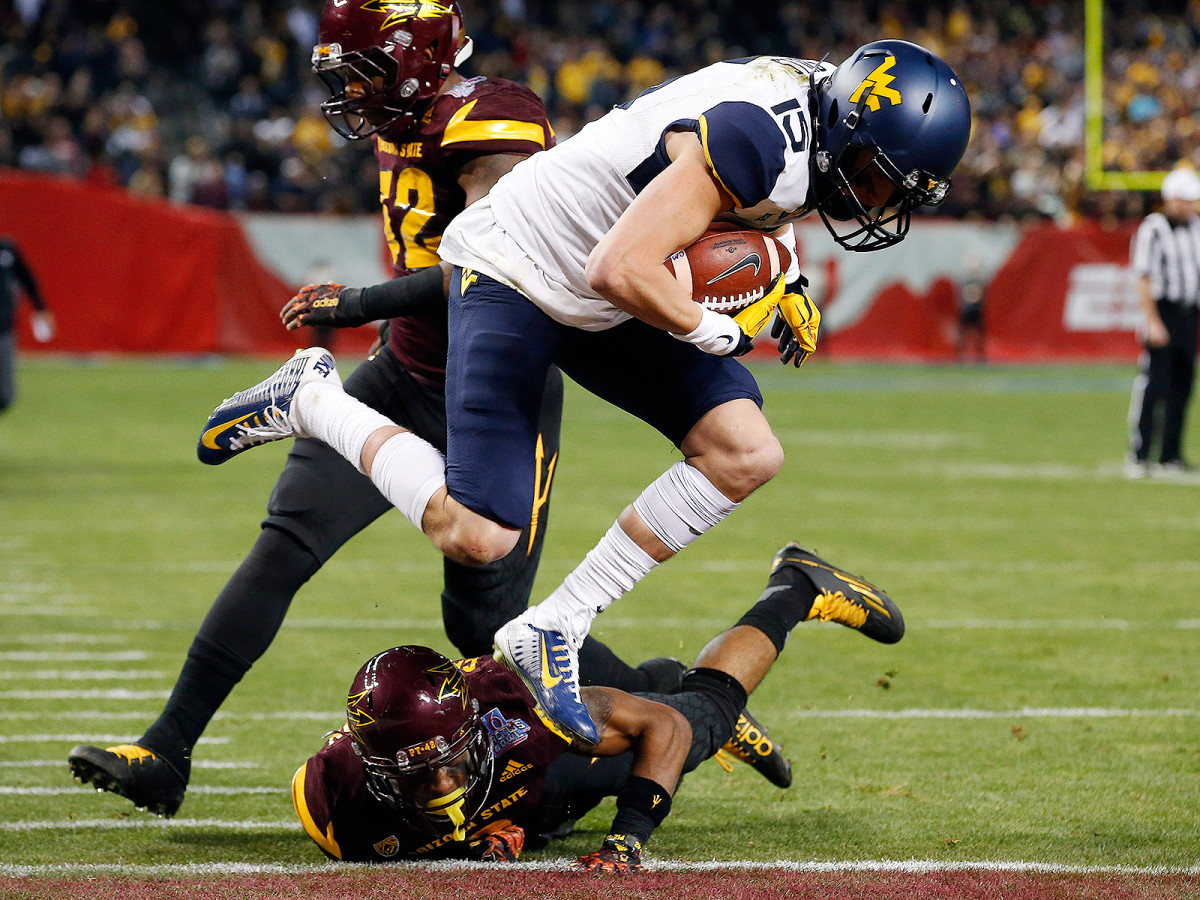 Sills was slow to embrace his ideal position the first time around, but in his second stint with West Virginia he figures to be a key member of the receiving corps.