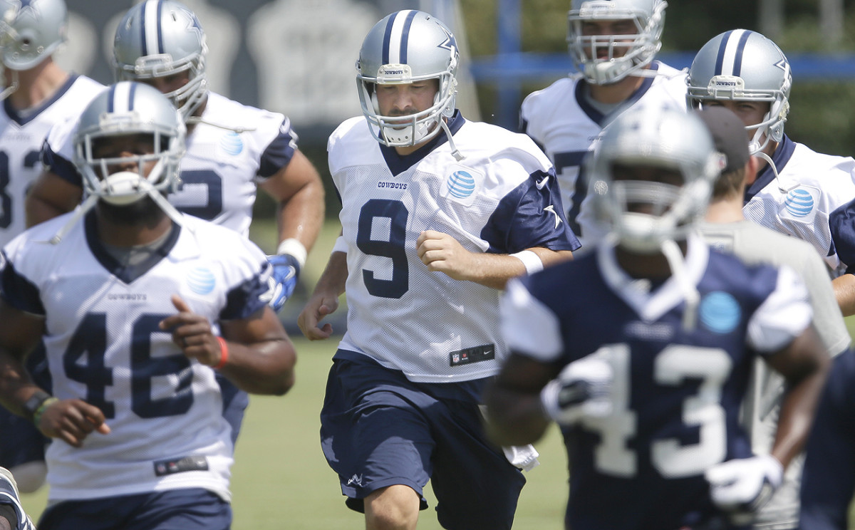 Tony Romo is healthy after missing all but four games for Dallas in 2015. The Cowboys went 3-1 in games Romo started last season.