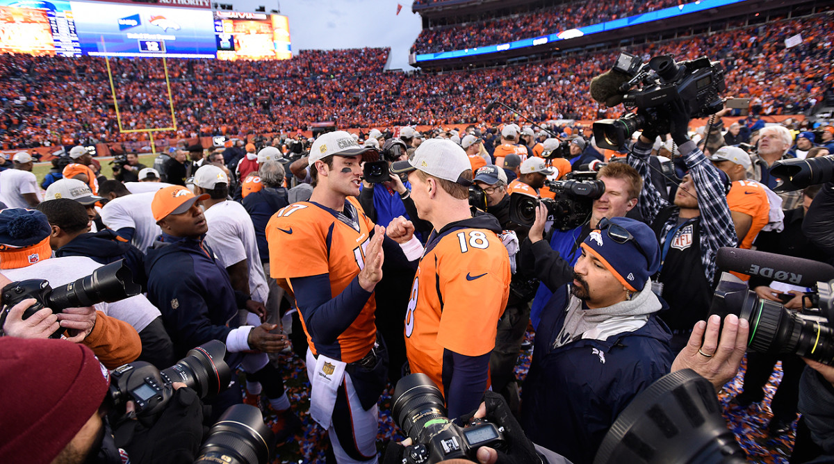 After Peyton Manning's retirement, Osweiler would have stepped in as Denver's starter. But he opted to play for Houston instead.