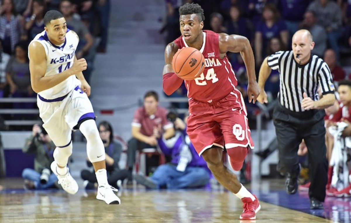 Hield received the Oscar Robertson Trophy and is up for the Wooden and Naismith awards for player of the year.