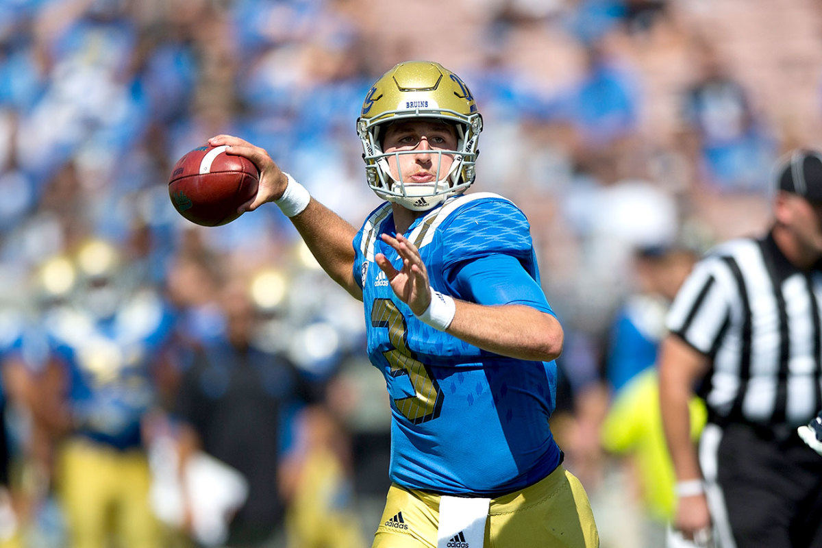 The college QB with the most NFL buzz in 2016: UCLA's Josh Rosen.