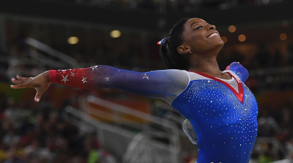 Simone Biles Wins Gold Medal Flipbook Form Video Sports News For