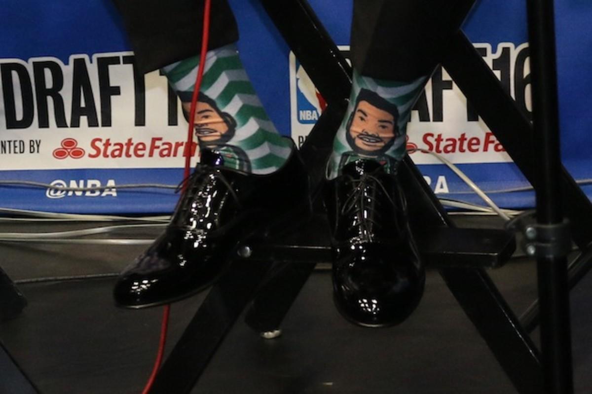 Denzel Valentine Socks IMG_3706.JPG