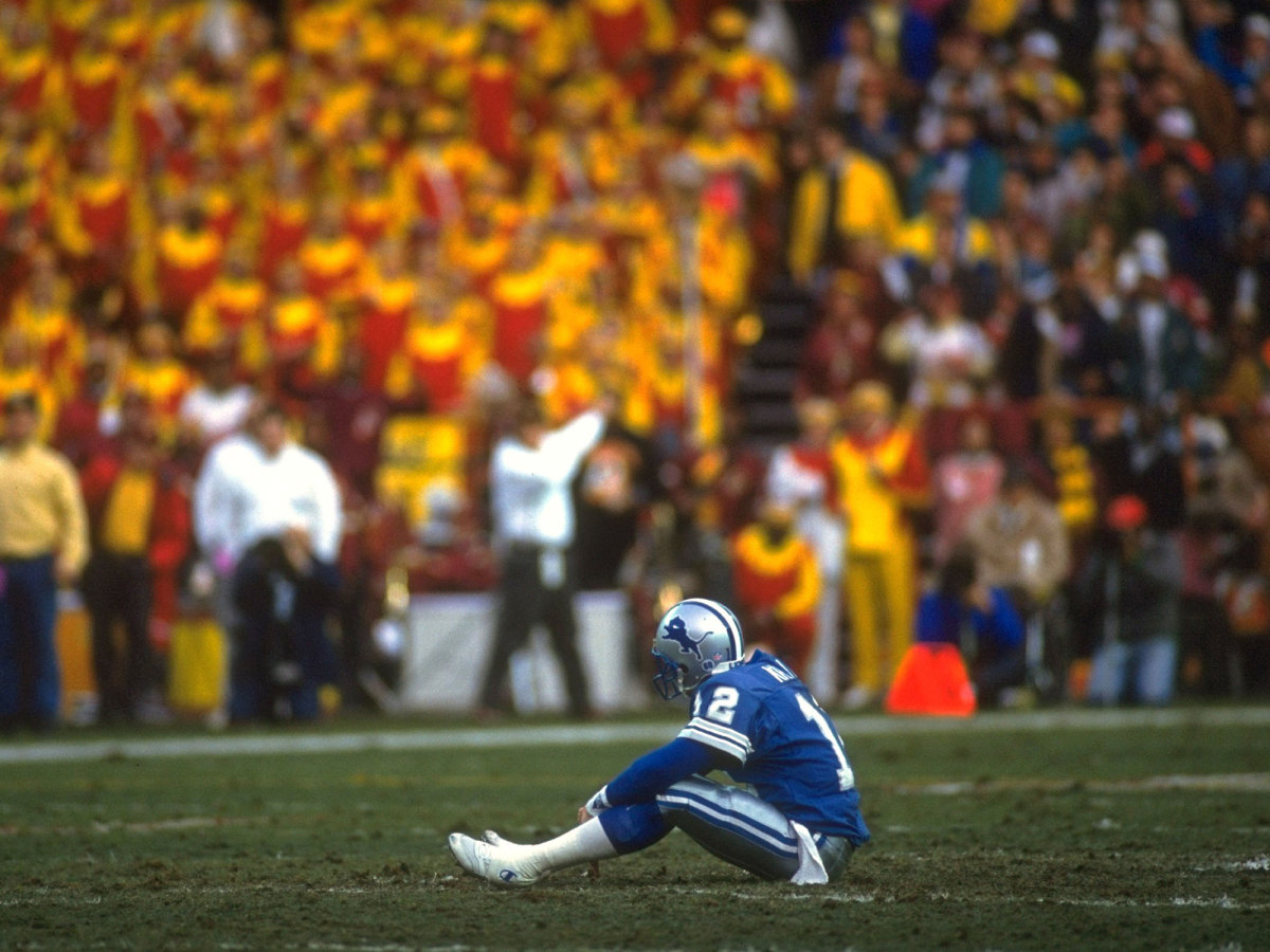 Kramer led the Lions to their only playoff win in the past 60 years in 1992, but Detroit's run came up short in the postseason.