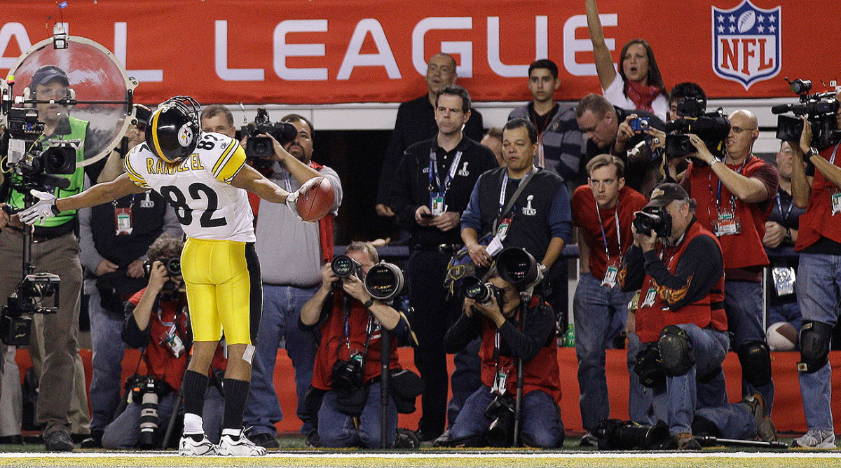 Five years after his Super Bowl XL moment, Randle El's two-point conversion run in Super Bowl XLV would be his last touch in an NFL game.