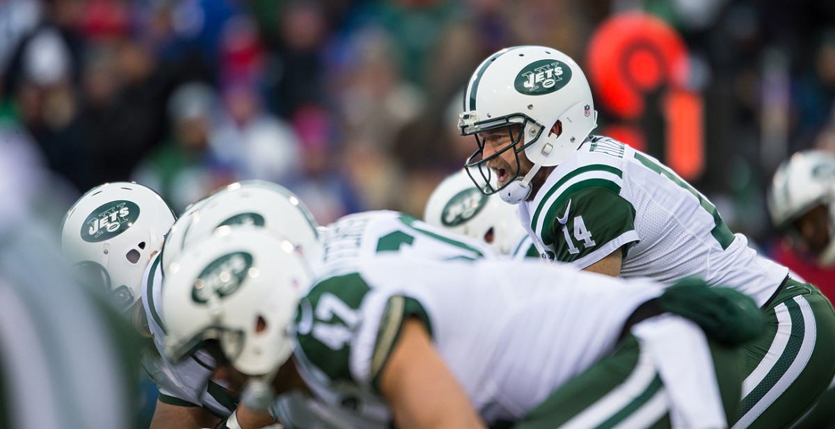 Will Ryan Fitzpatrick be under center for the Jets this season? The answer is TBD.