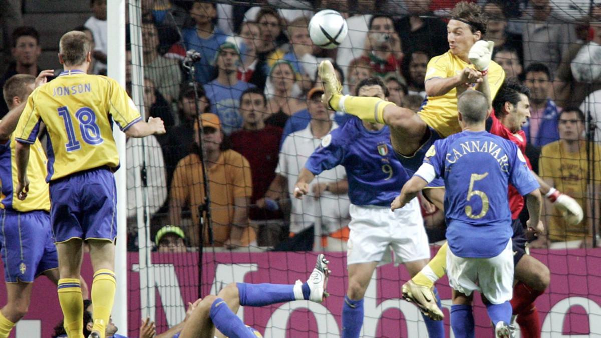 Zlatan vs Italy: Ibrahimovic's amazing Euro 2004 goal (VIDEO) - SI Kids:  Sports News for Kids, Kids Games and More