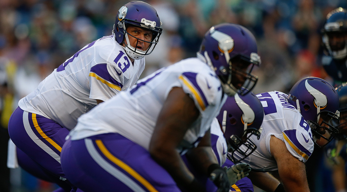 Shaun Hill finds himself in a familiar position as a backup watching the starter go down with a season-ending injury.