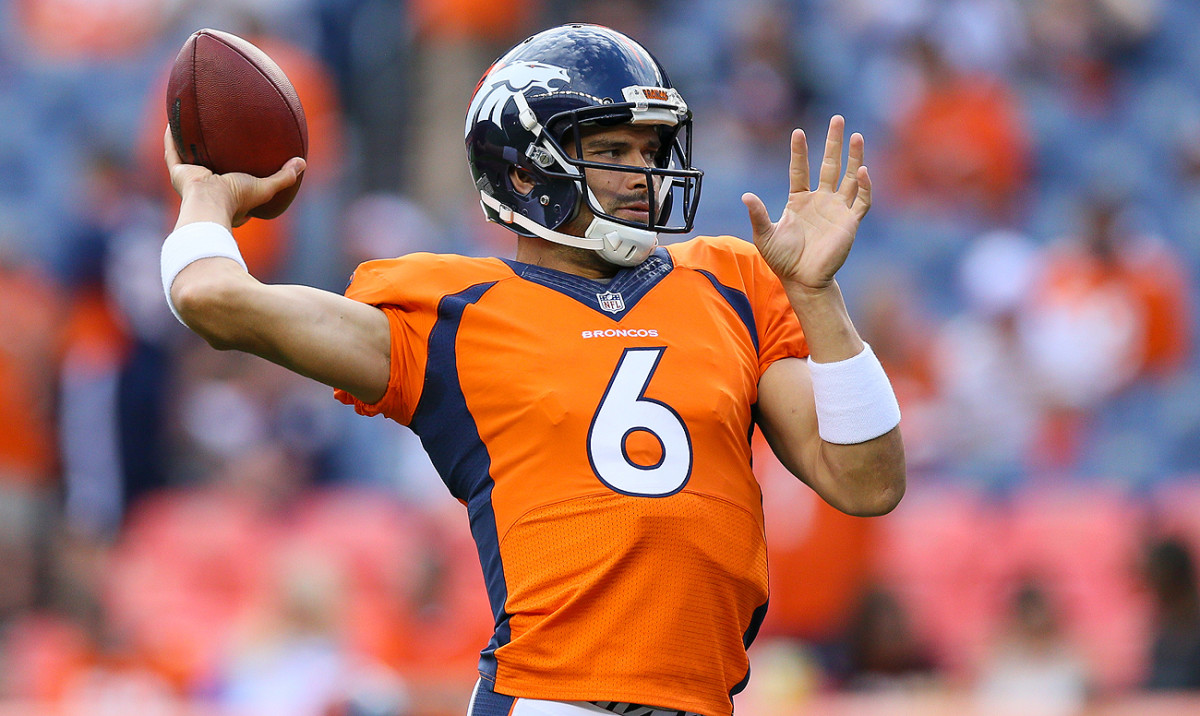 Mark Sanchez will be a factor as the quarterback market develops in the wake of roster cuts and last-minute trades.
