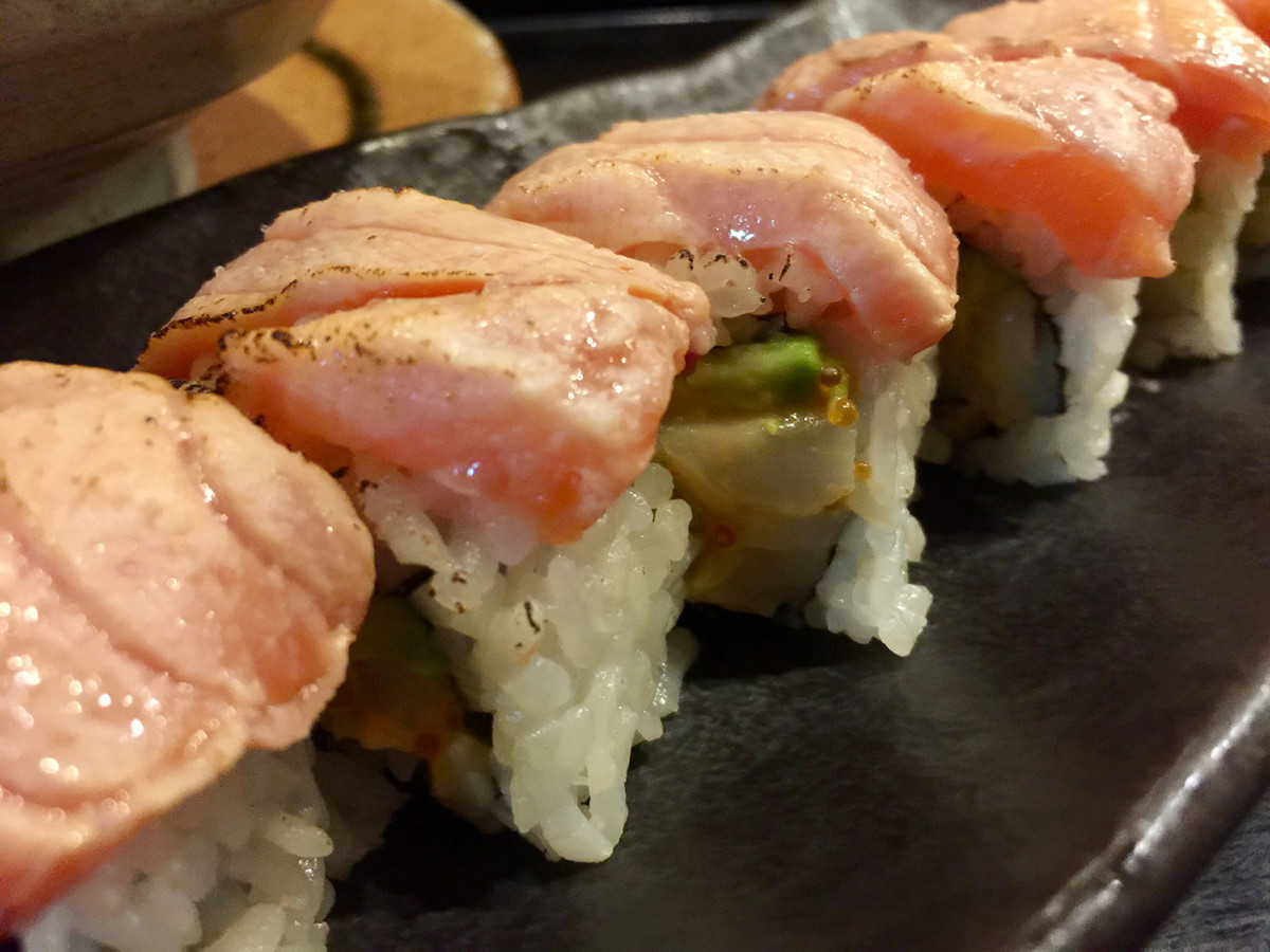 The Marine roll from Tsukushinbo.
