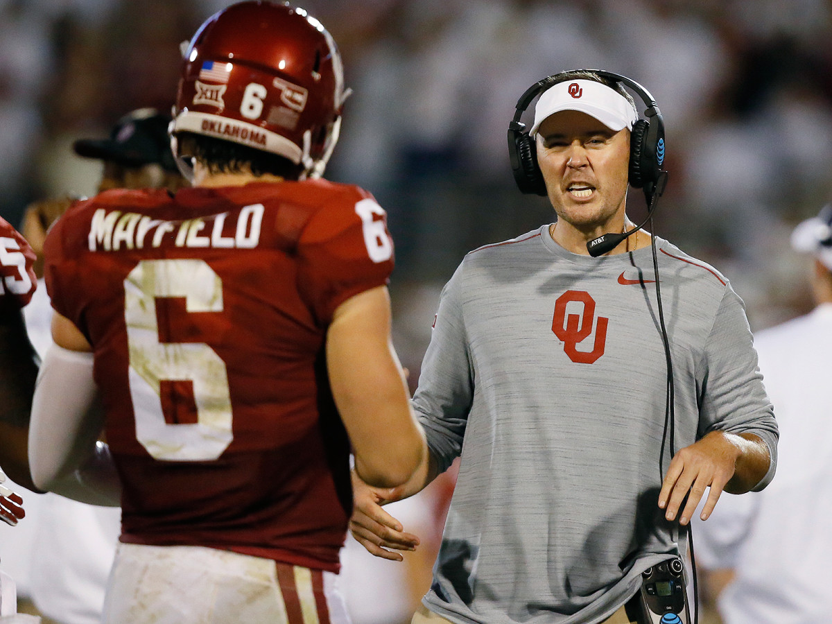As Lincoln Riley adds head coaching duties on top of his offense playcalling duties, the pressure's on Mayfield to keep the offense running efficiently.