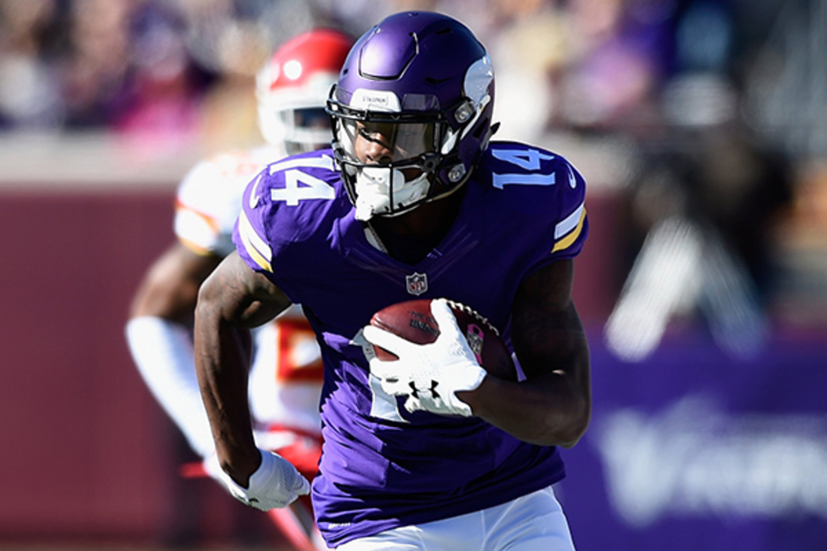 fantasy football 2015 week 7 intriguing players stefon diggs