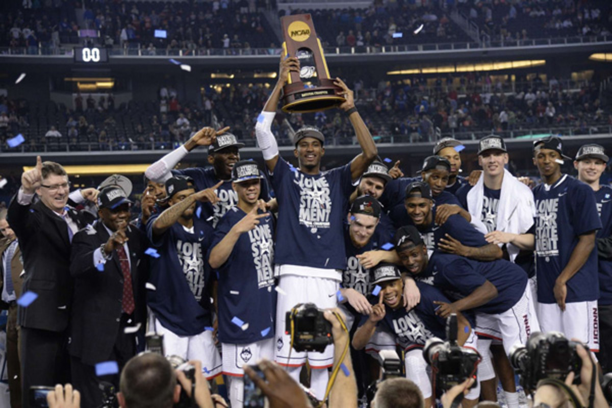 connecticut huskies uconn 2014 national championship college basketball