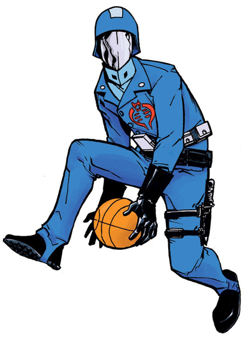 cobra commander gi joe basketball