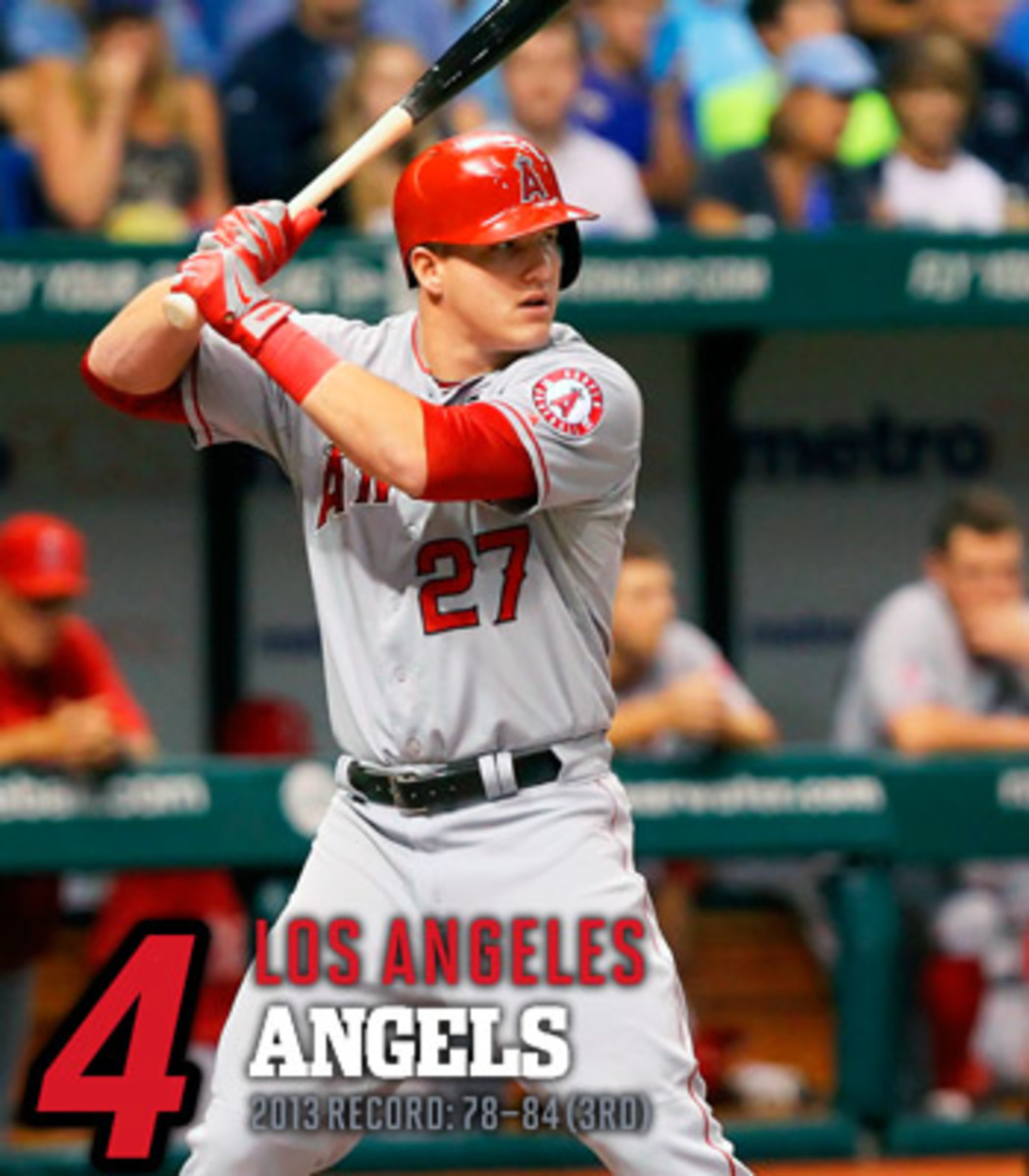 2014 mlb preview AL west los angeles angels