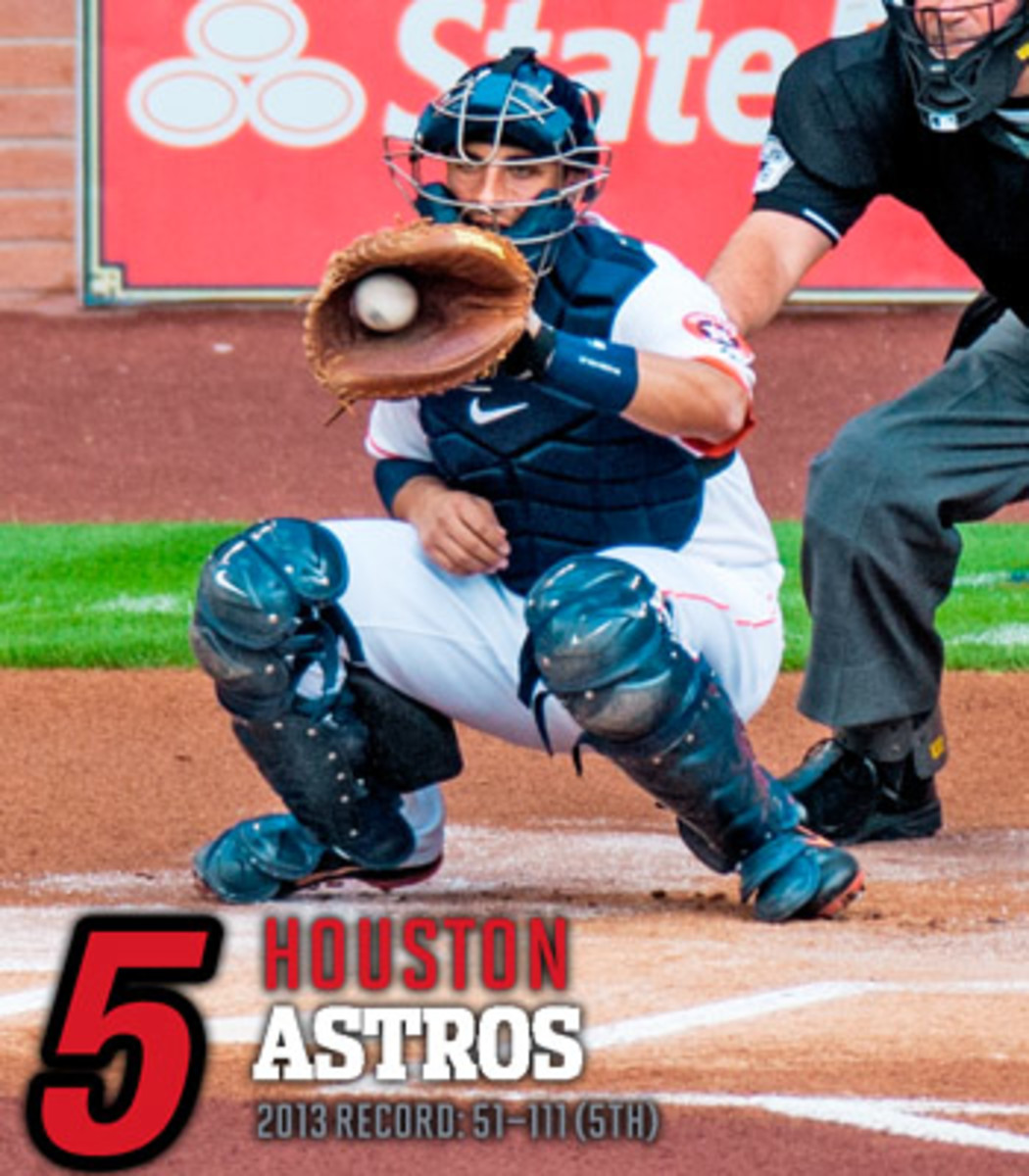 2014 mlb preview AL west houston astros