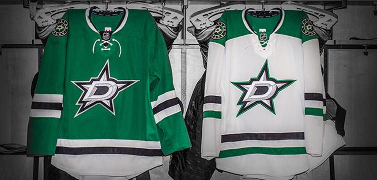 dallas stars new jerseysand new logo