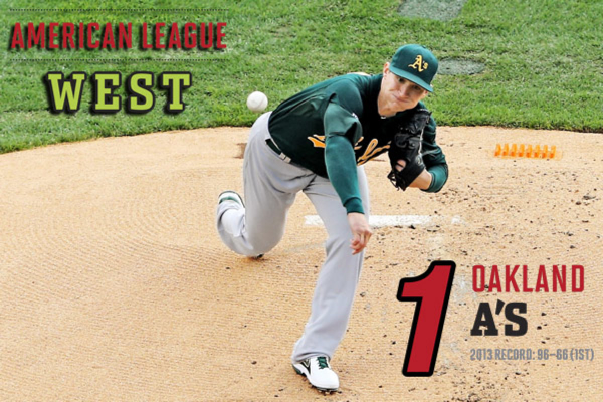 2014 mlb preview AL west oakland a's
