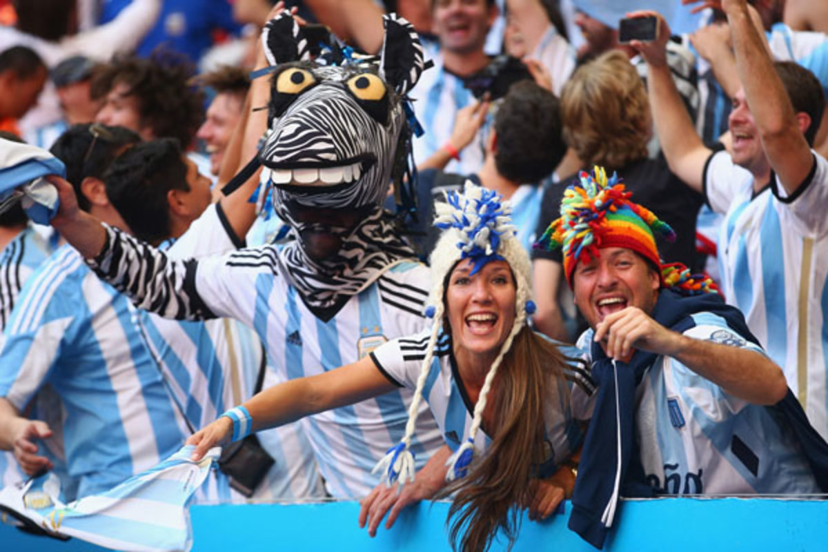 world cup final argentina germany
