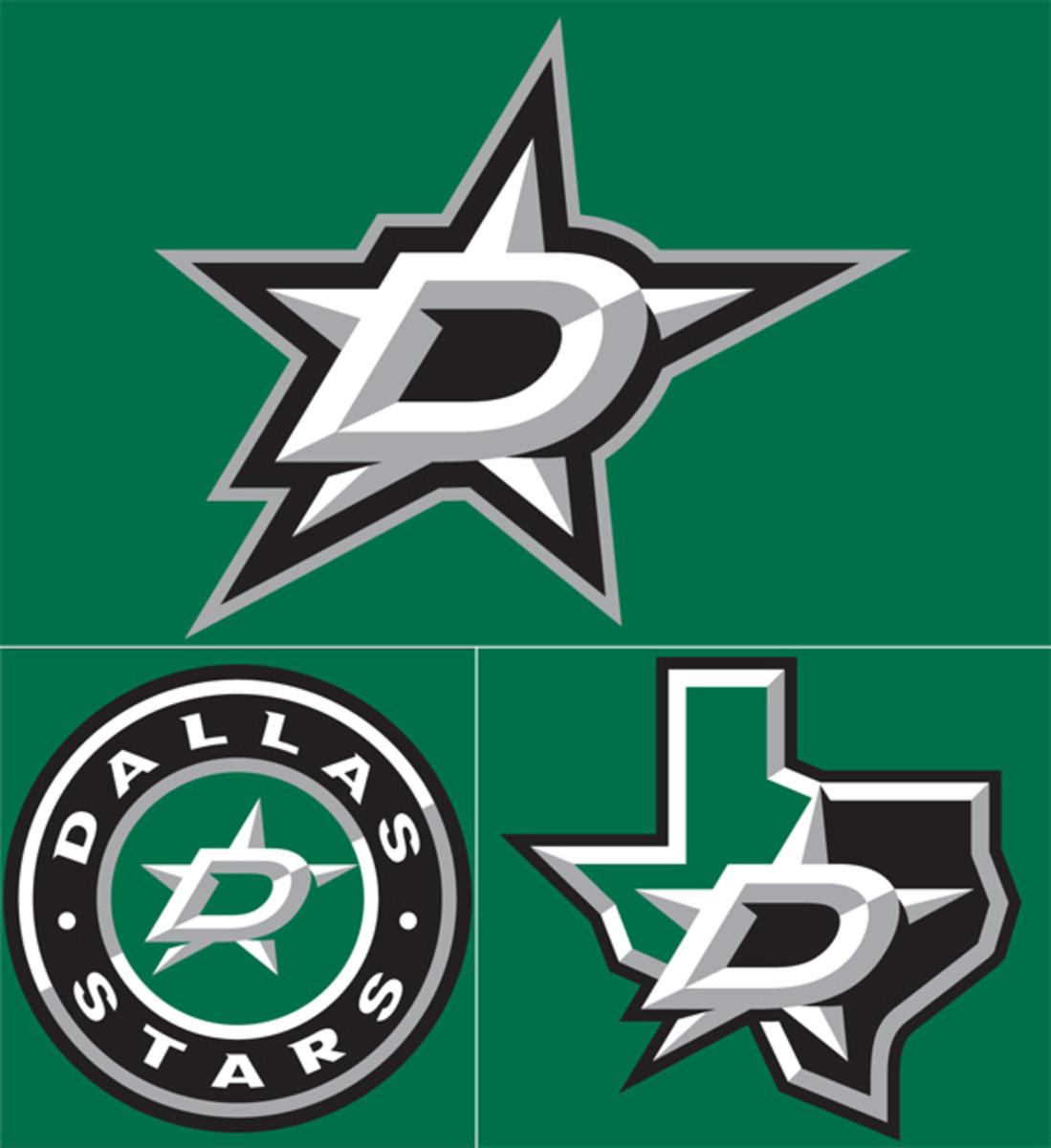 dallas stars new logos