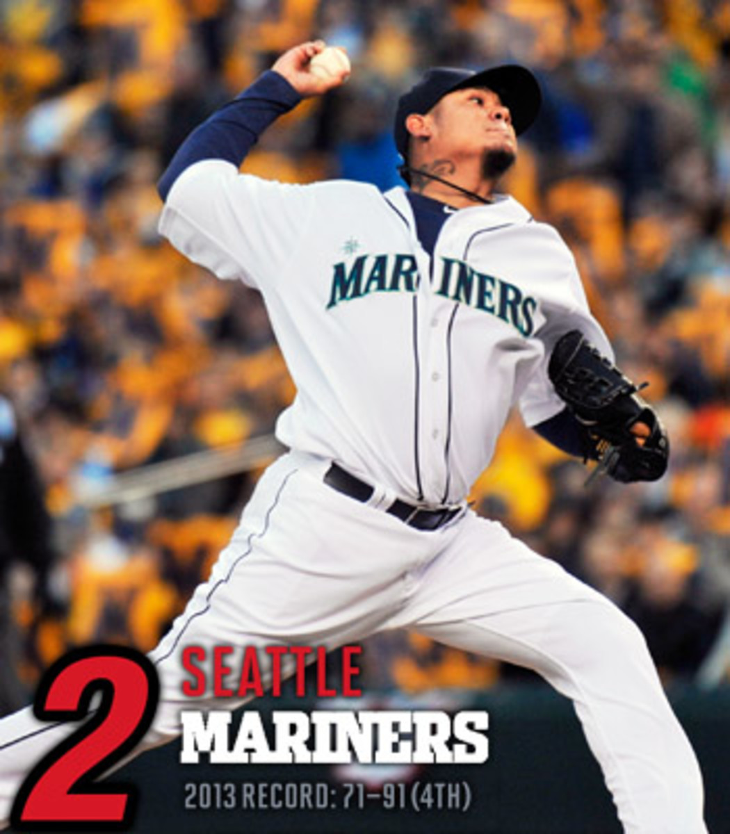 2014 mlb preview AL west seattle mariners