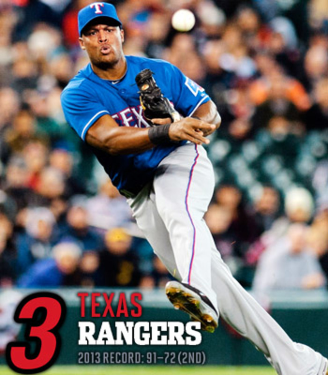 2014 mlb preview AL west texas rangers