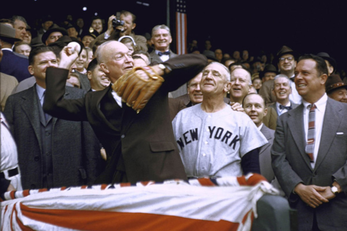 presidential first pitch slideshow