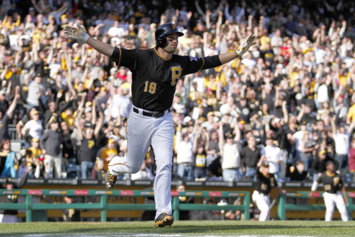 neil walker walk off home run pittsburgh pirates opening day 2014