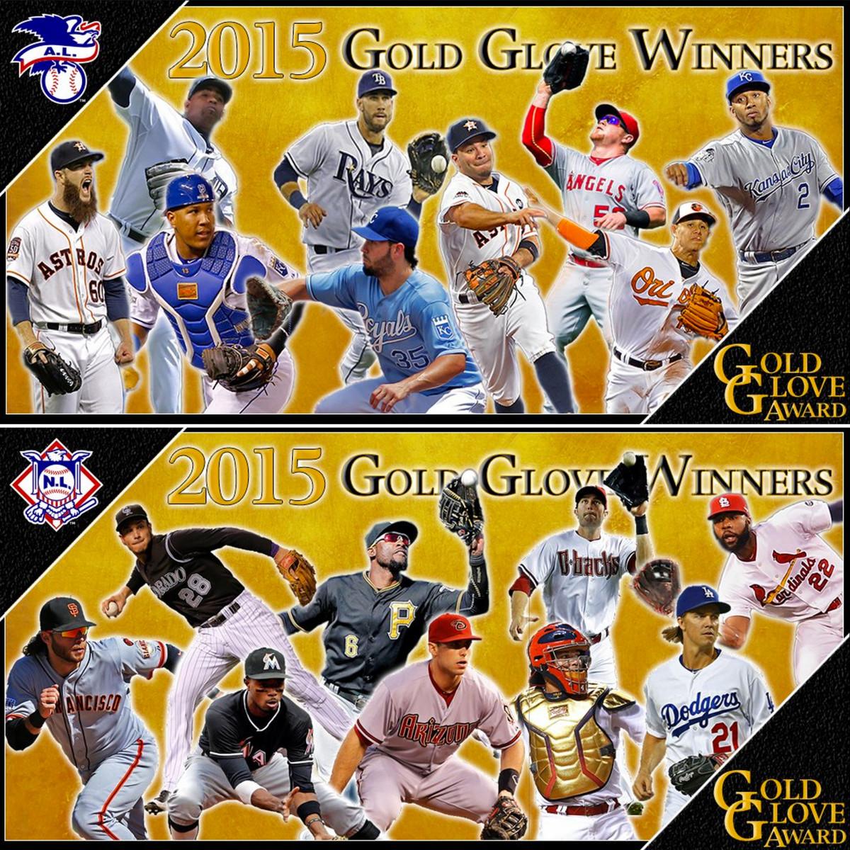 2015 mlb gold gloves