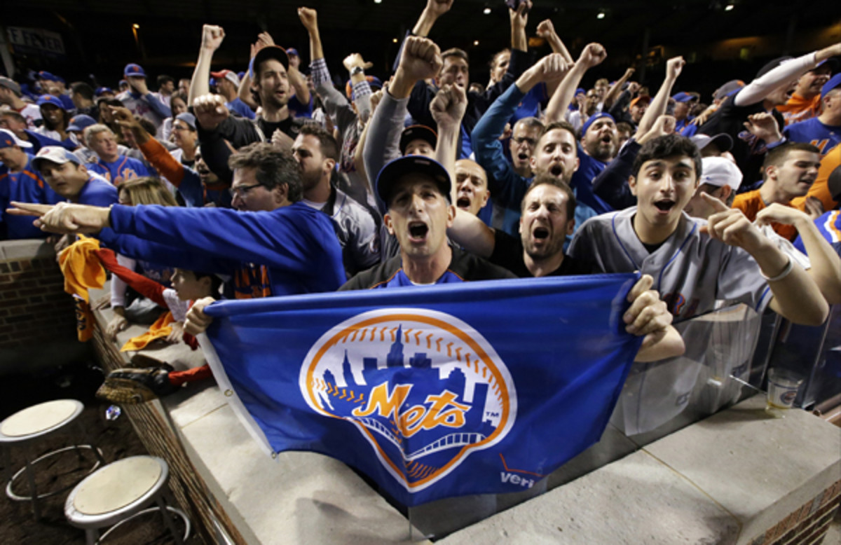 new york mets national league champions 2015 fans