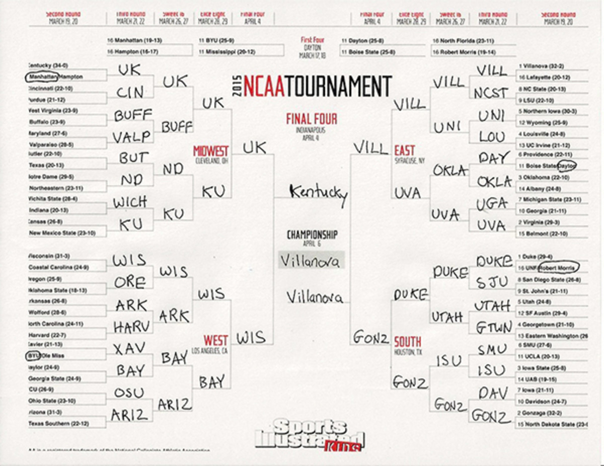march madness bracket will foster