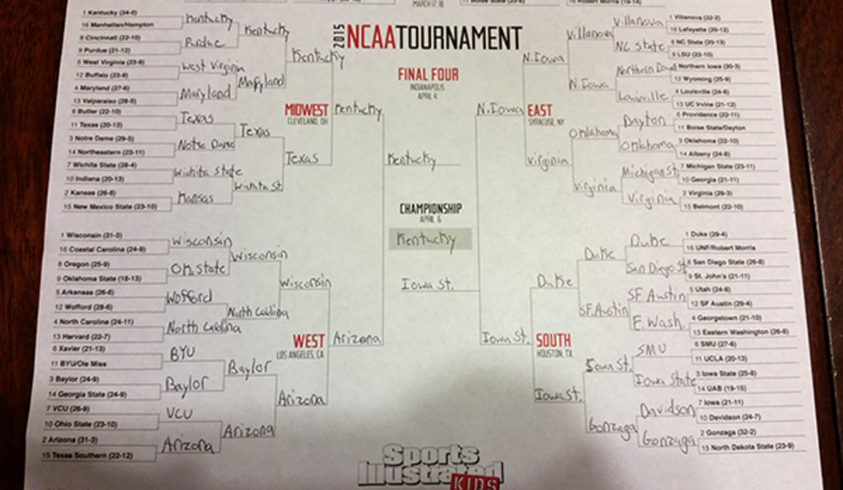 brian yancelson march madness bracket