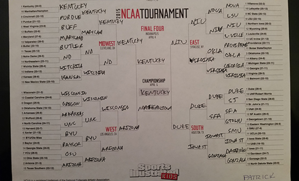 march madness bracket patrick andres