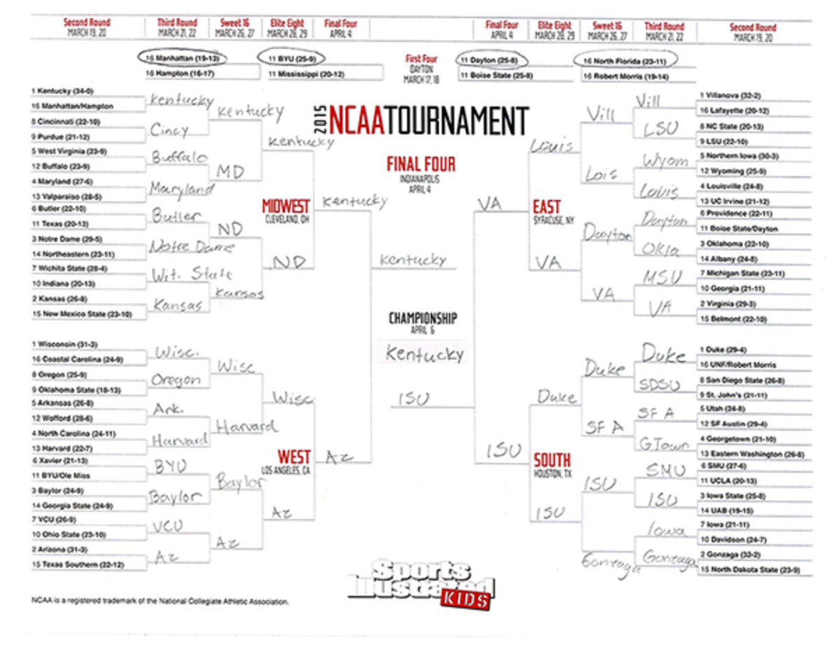 march madness bracket maxwell surprenant