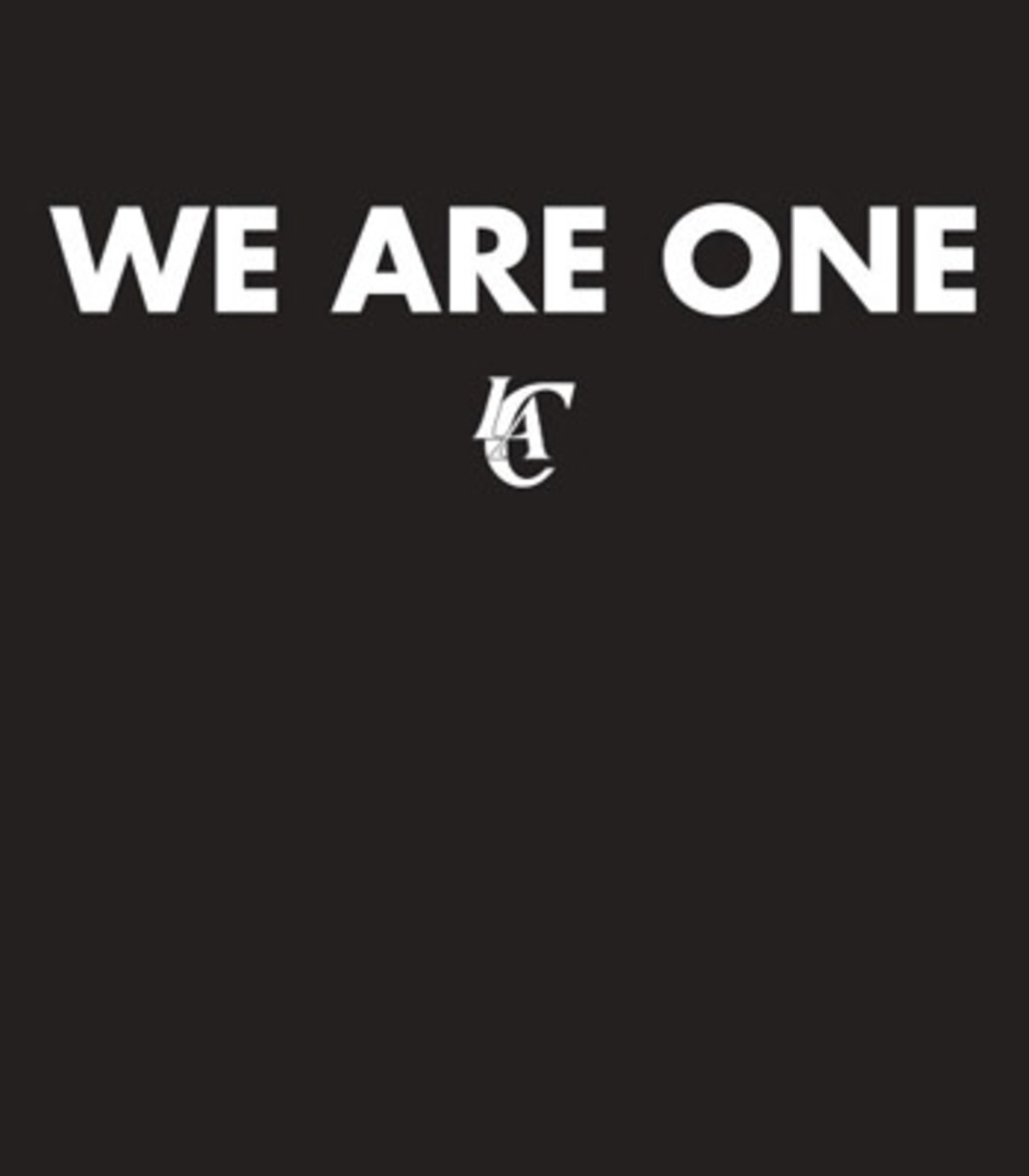 los angeles clippers we are one