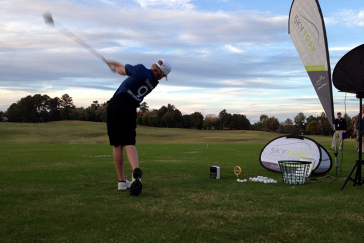 pga junior league golf championship swing
