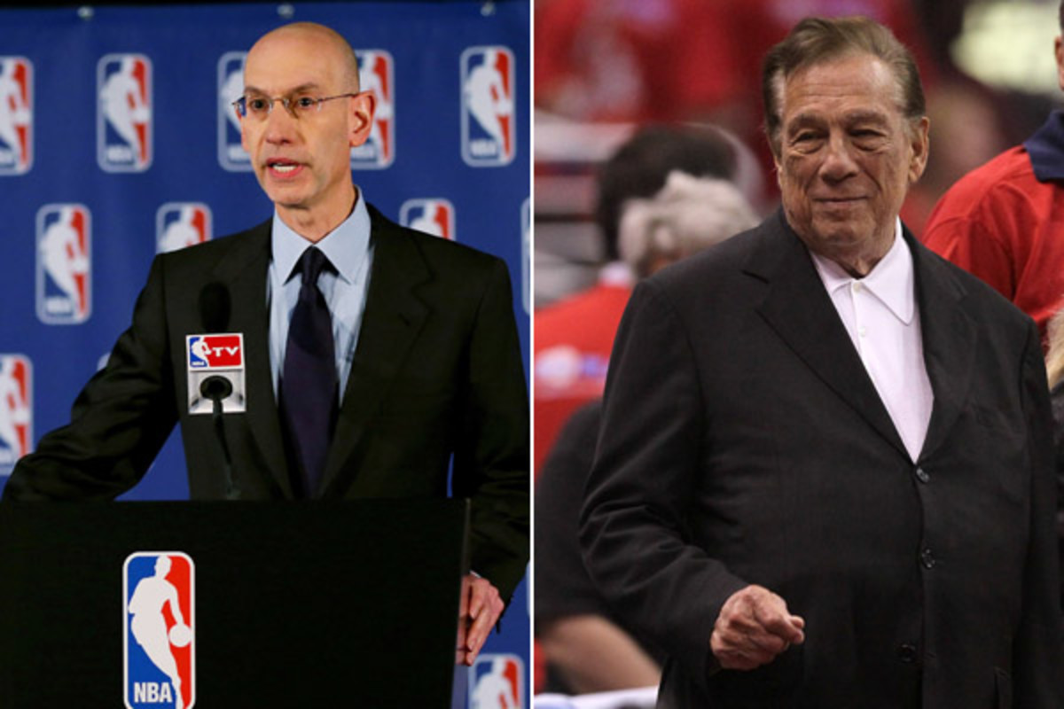 adam silver donald sterling nba los angeles clippers