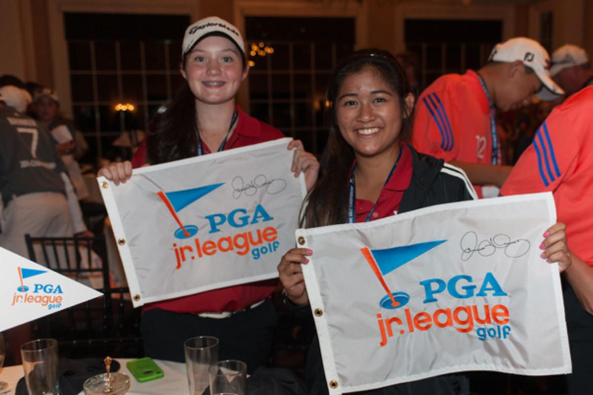 pga junior league golf championship flags
