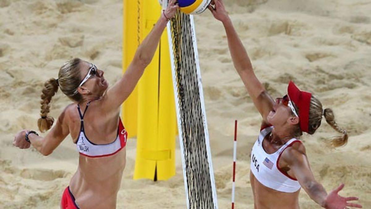 kerri walsh jennings april ross 2012 olympics