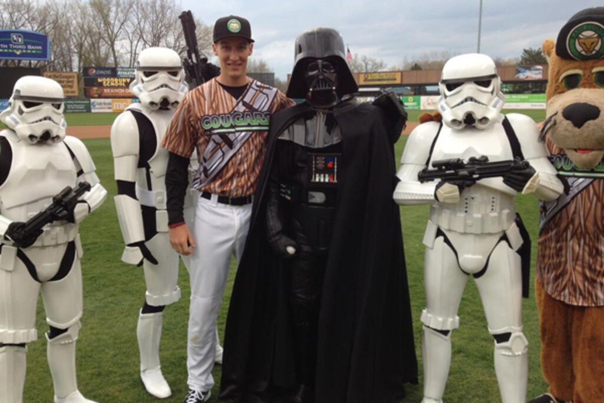 star wars baseball 2014 kane county cougars