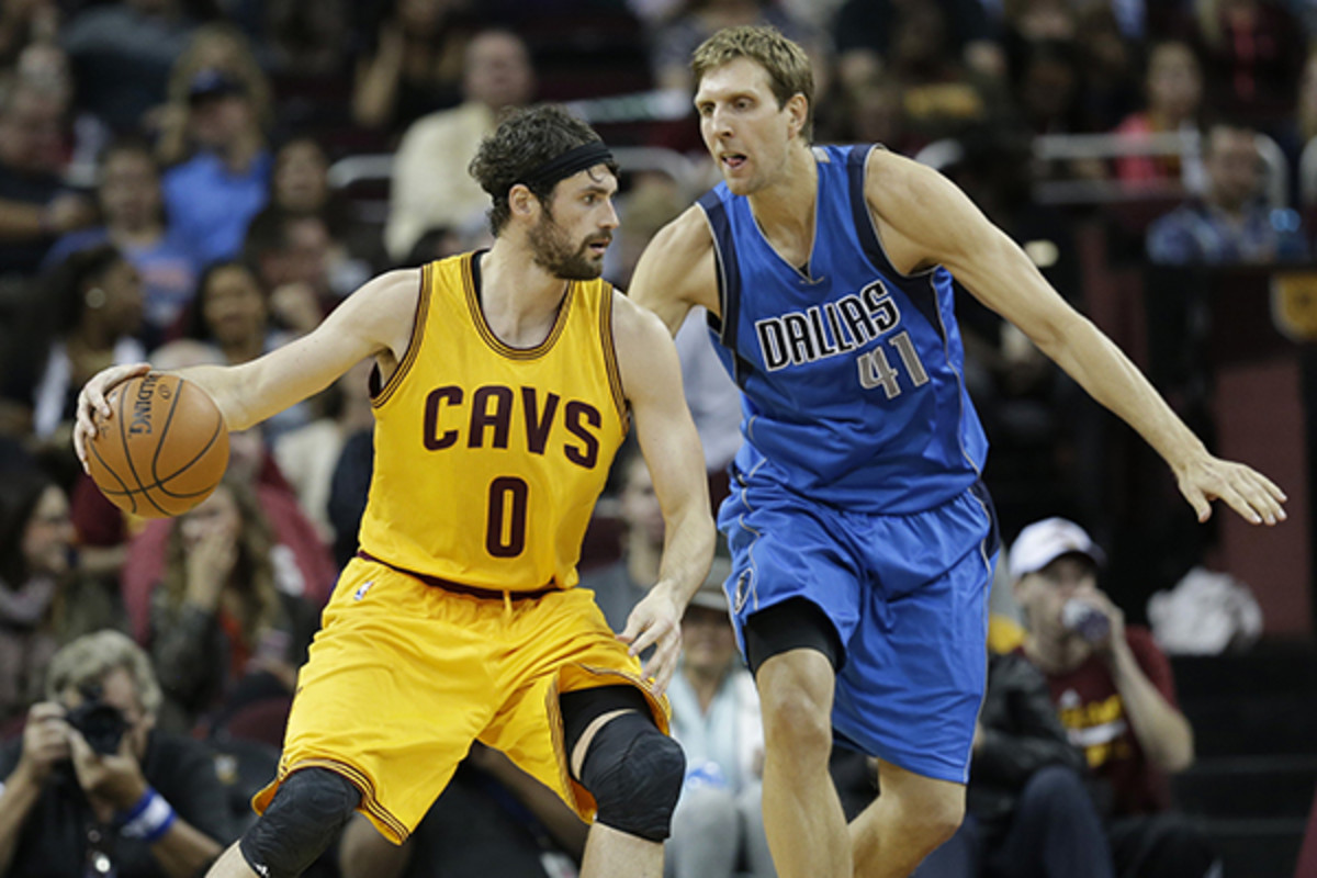 kevin love cleveland cavaliers shock doctor