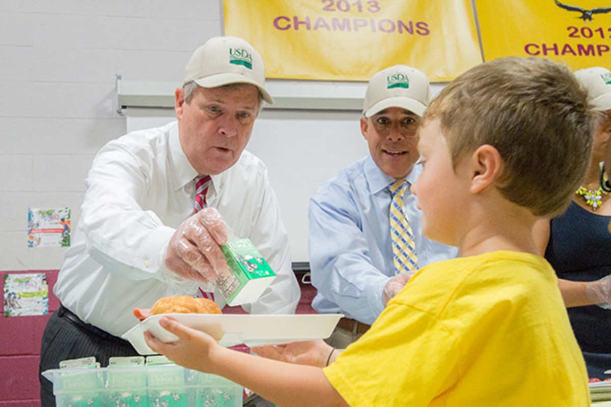 usda tom vilsack healthy eating